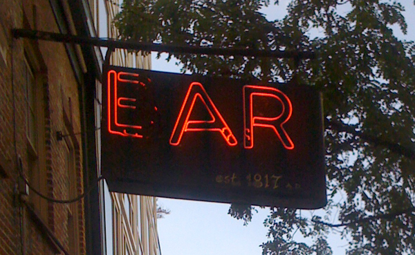 Ear Inn Sign 1