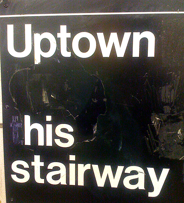 Uptown his stairway
