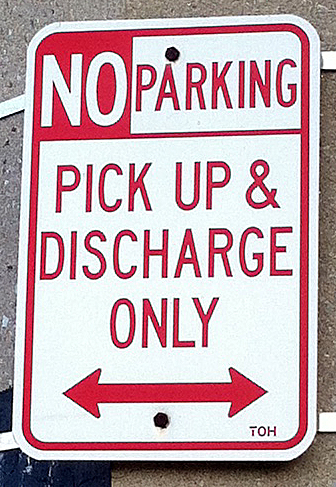 Pick Up & Discharge Only