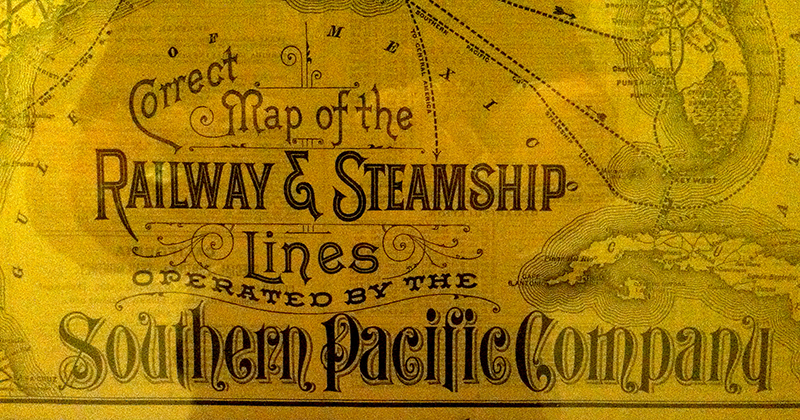 railroad map type