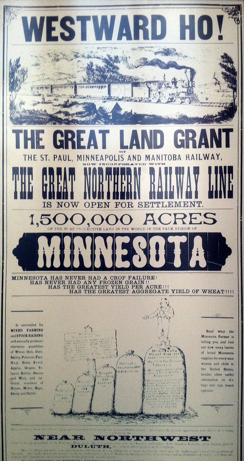 Minnesota Land Poster