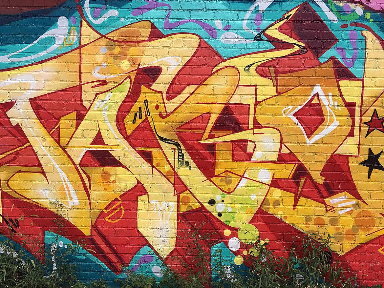 details of graffiti
