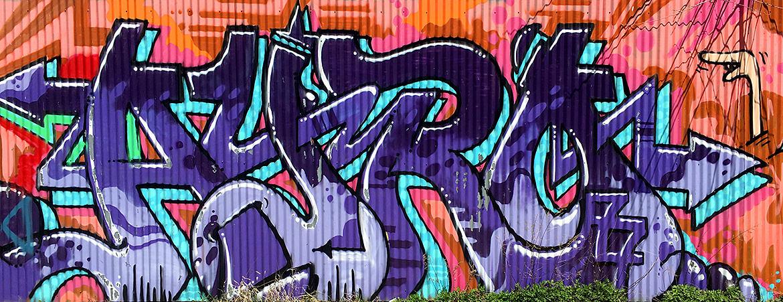 grafitti lettering