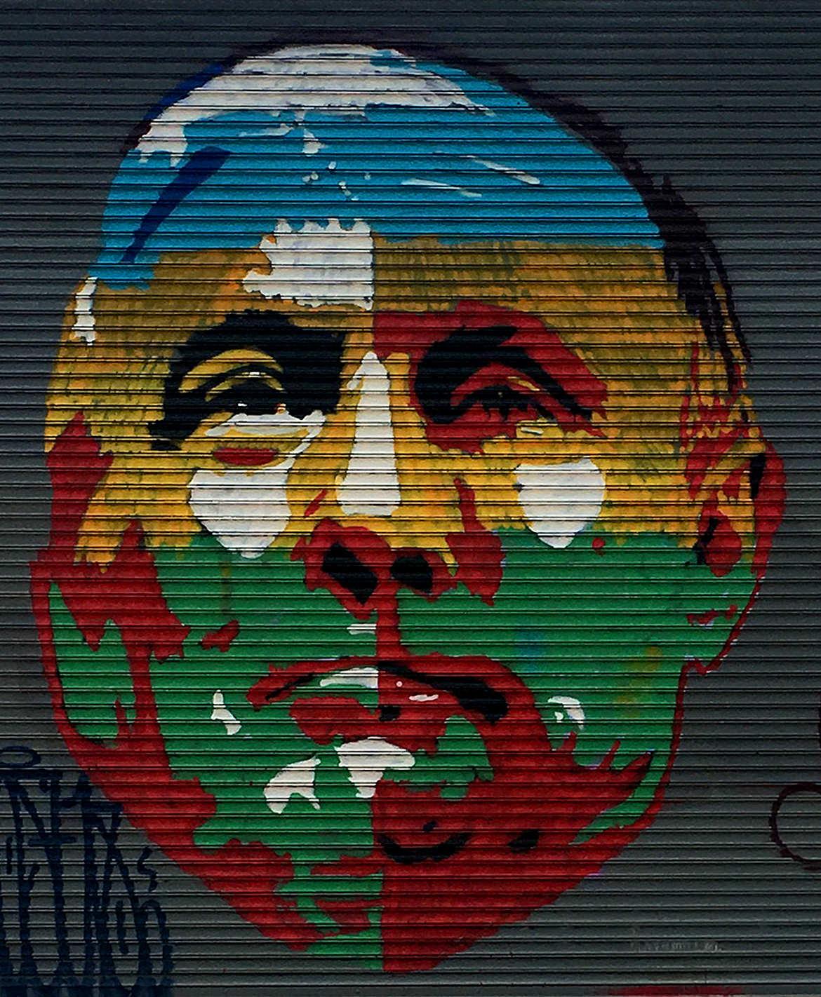 Trump & Putin painting